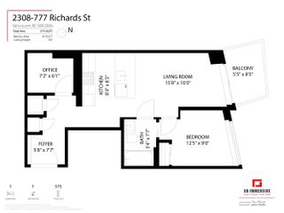 """Photo 28: 2308 777 RICHARDS Street in Vancouver: Downtown VW Condo for sale in """"TELUS GARDEN"""" (Vancouver West)  : MLS®# R2617805"""