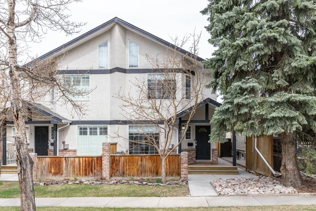 Main Photo: 1 308 14 Avenue NE in Calgary: Crescent Heights Row/Townhouse for sale : MLS®# A1101597