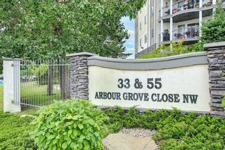 Photo 1: 207 33 Arbour Grove Close NW in Calgary: Arbour Lake Apartment for sale : MLS®# A1135288