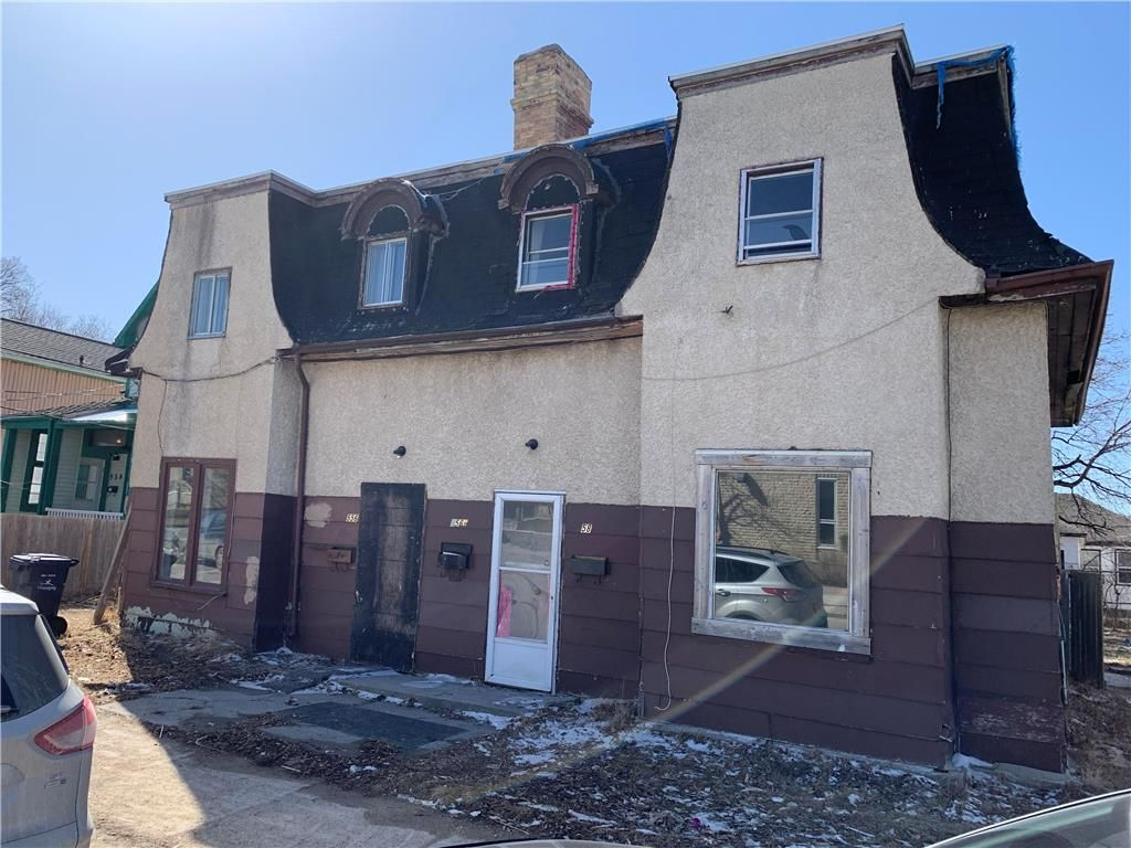 Main Photo: 556 Alexander Avenue in Winnipeg: Industrial / Commercial / Investment for sale (5A)  : MLS®# 202107455