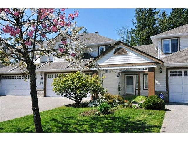 """Main Photo: 20 11355 COTTONWOOD Drive in Maple Ridge: Cottonwood MR Townhouse for sale in """"COTTONWOOD TERRACE"""" : MLS®# V1032263"""