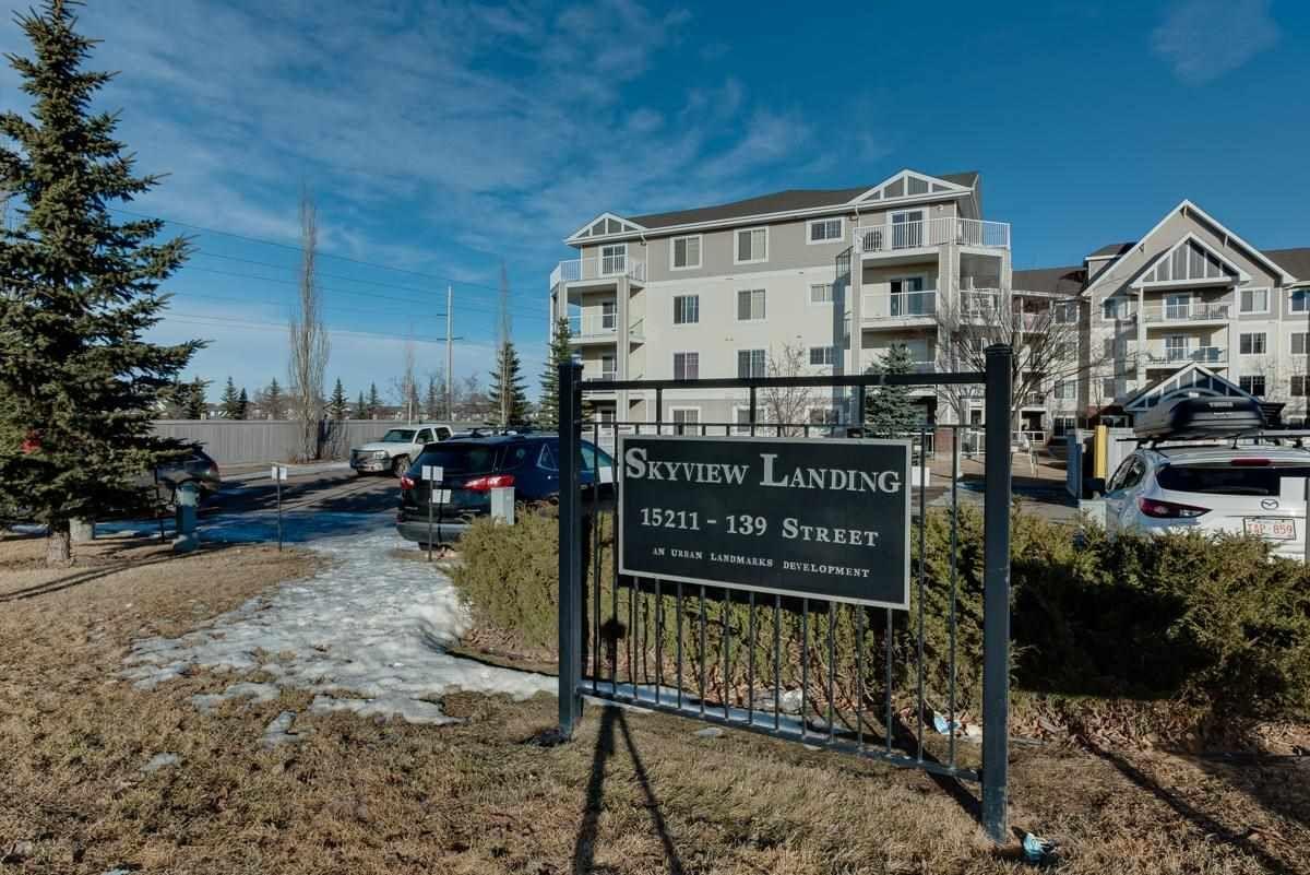 Main Photo: 315 15211 139 Street in Edmonton: Zone 27 Condo for sale : MLS®# E4241601