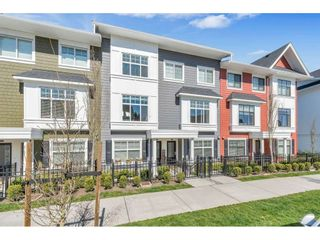 "Photo 1: 98 27735 ROUNDHOUSE Drive in Abbotsford: Aberdeen Townhouse for sale in ""Roundhouse"" : MLS®# R2566201"