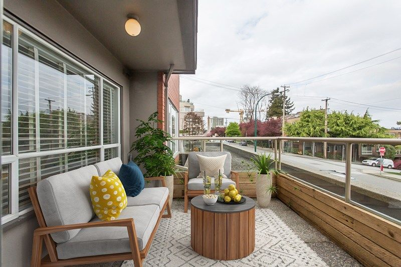 Virtually Staged Deck/Balcony