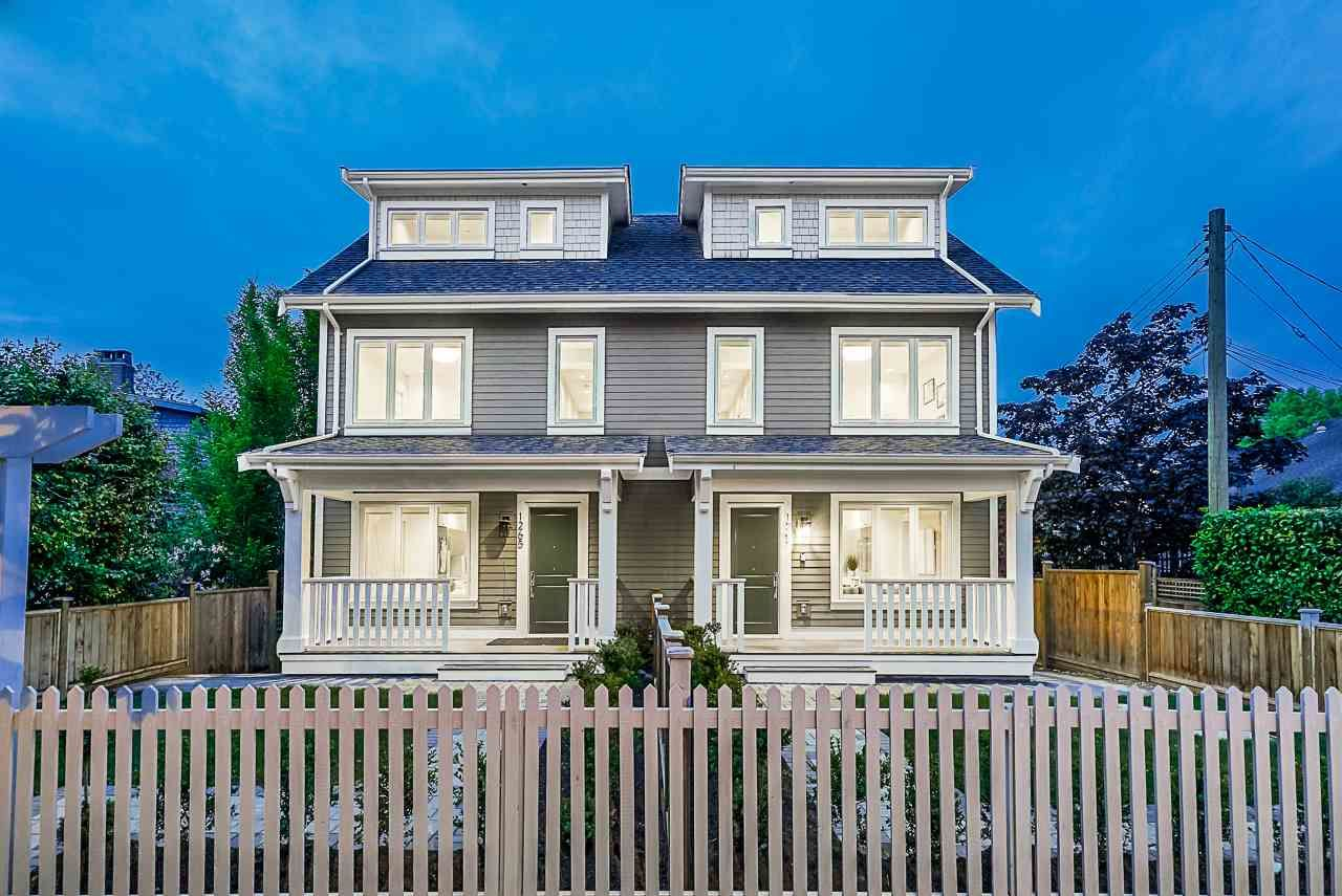 Main Photo: 1267 E 20TH Avenue in Vancouver: Knight 1/2 Duplex for sale (Vancouver East)  : MLS®# R2374305
