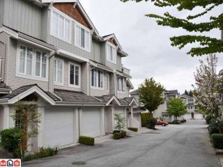 Photo 1: 41 14877 58TH Avenue in Surrey: Sullivan Station Townhouse for sale : MLS®# F1300739
