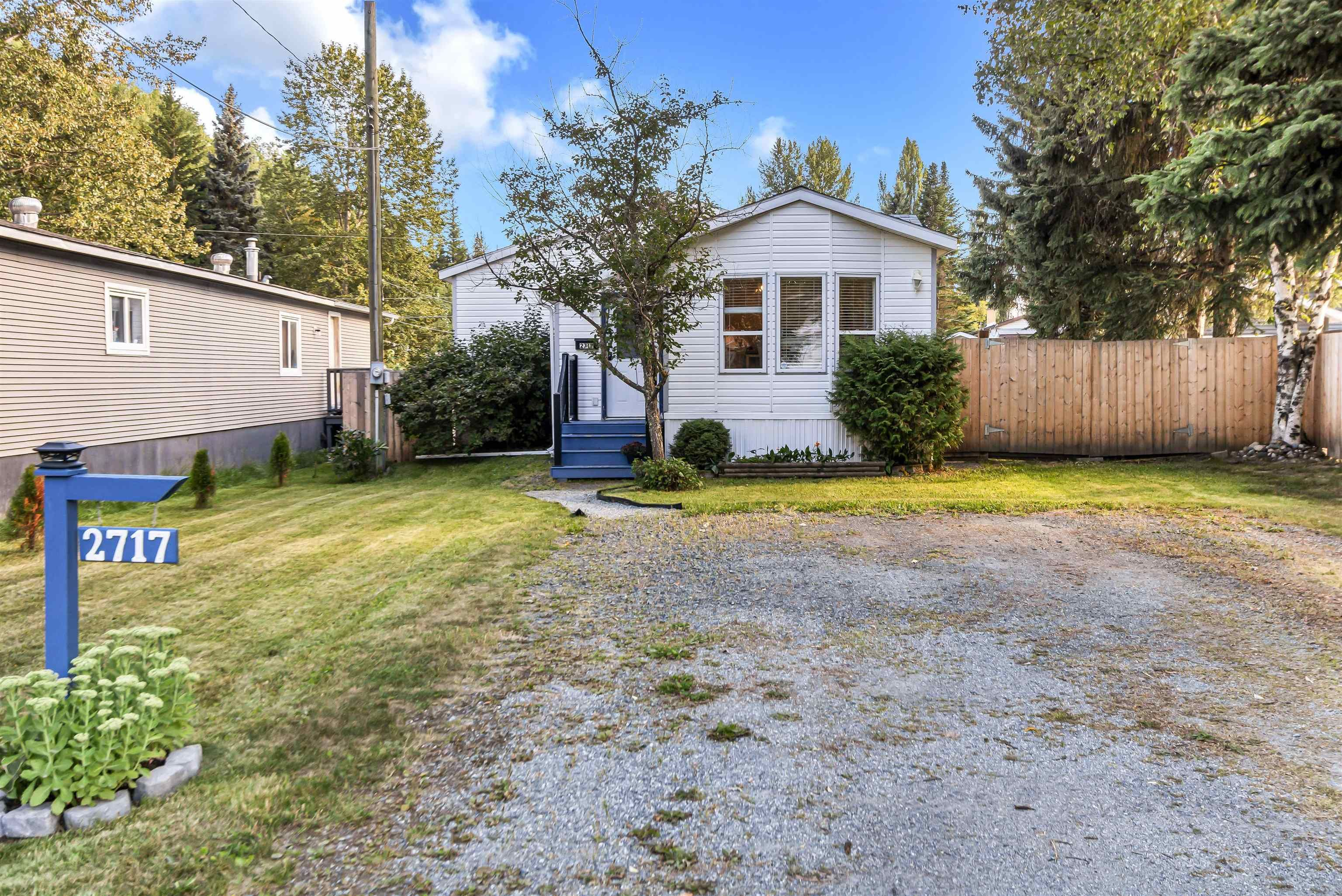 Main Photo: 2717 MINOTTI Drive in Prince George: Hart Highway Manufactured Home for sale (PG City North (Zone 73))  : MLS®# R2612148