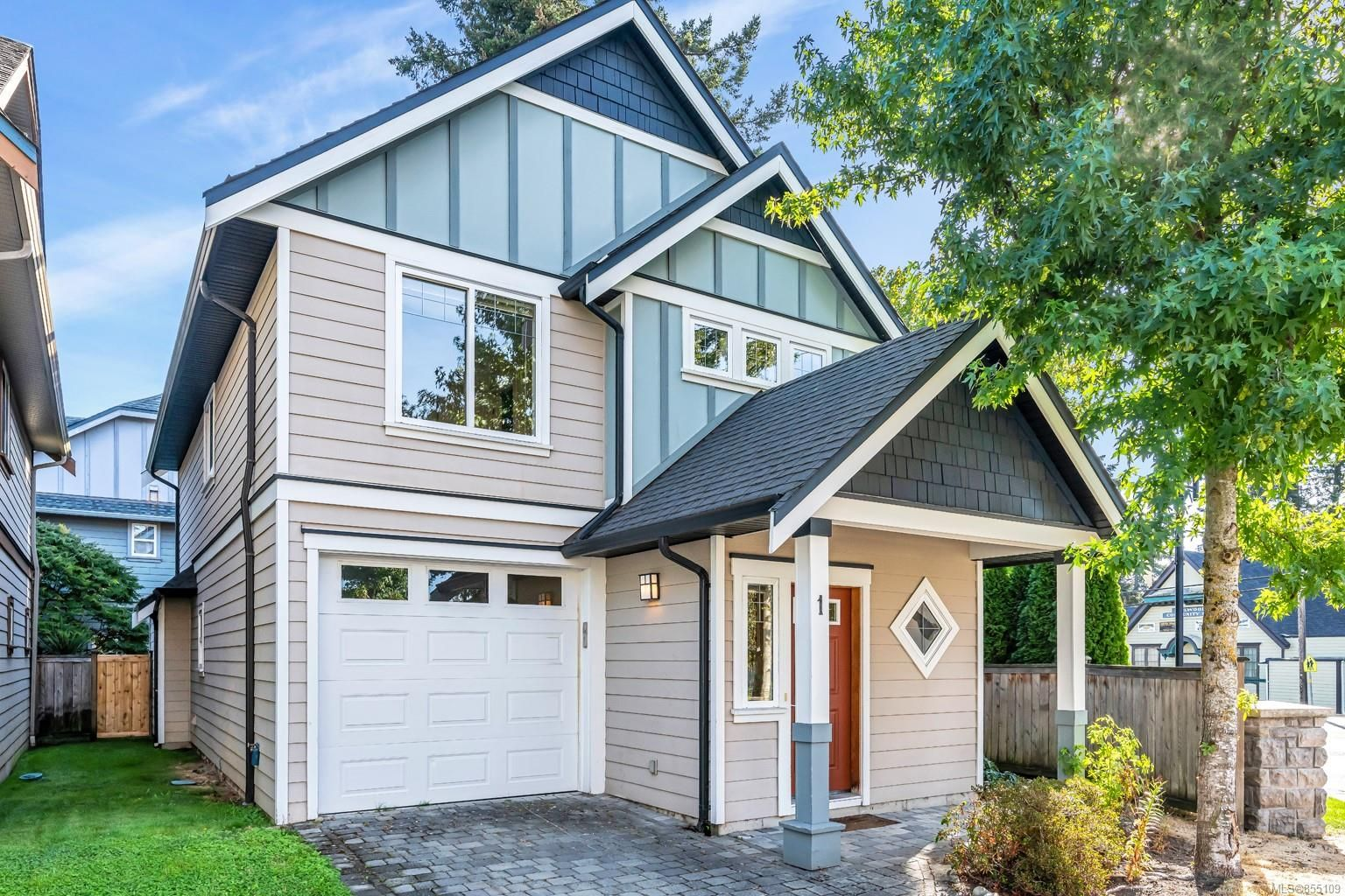 Main Photo: 1 2216 Sooke Rd in : Co Hatley Park Row/Townhouse for sale (Colwood)  : MLS®# 855109