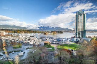 Photo 1: 801 555 JERVIS STREET in Vancouver: Coal Harbour Condo for sale (Vancouver West)  : MLS®# R2330860