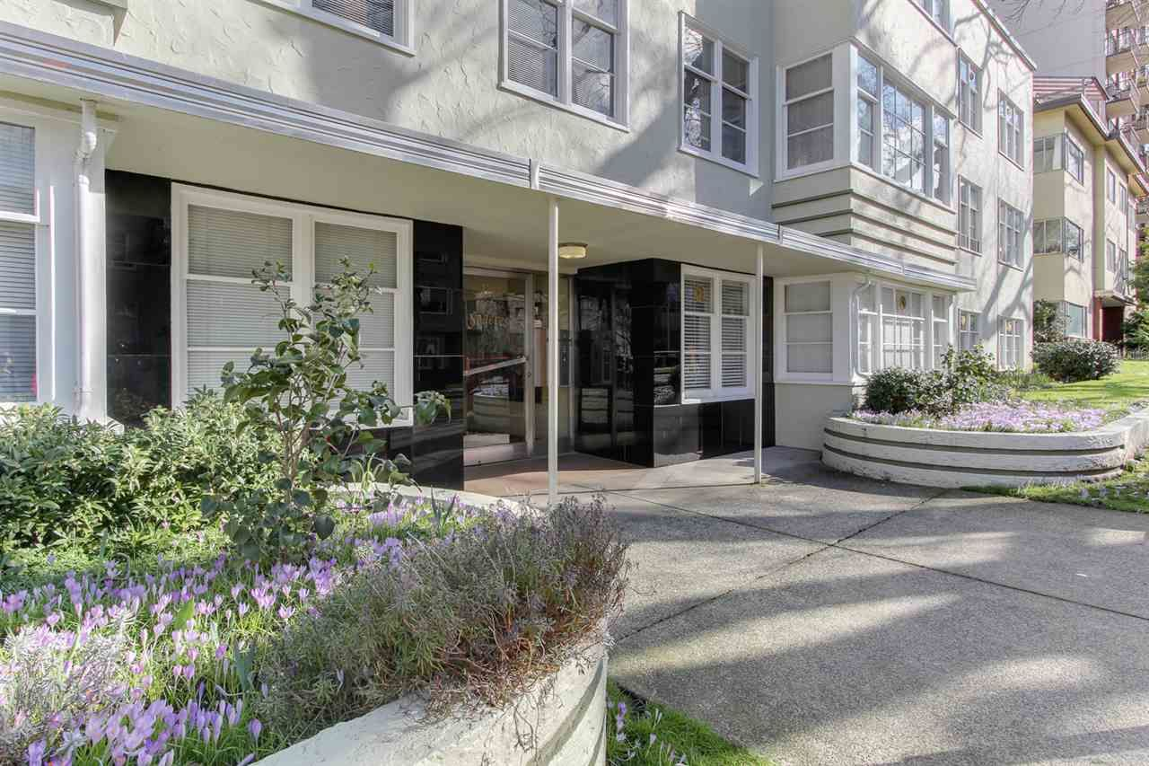 Main Photo: 302 1565 BURNABY STREET in : West End VW Condo for sale : MLS®# R2140956