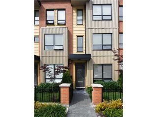 """Photo 1: 1871 STAINSBURY Avenue in Vancouver: Victoria VE Townhouse for sale in """"THE WORKS"""" (Vancouver East)  : MLS®# V834837"""