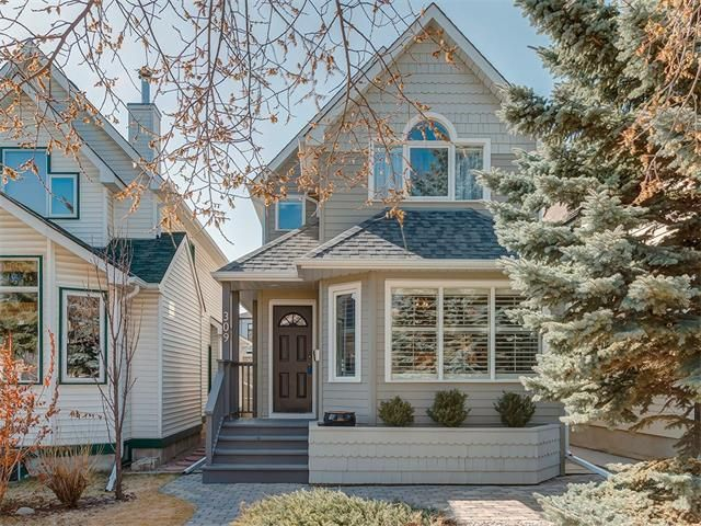 Main Photo: 309 16 Street NW in Calgary: Hillhurst House for sale : MLS®# C4005350