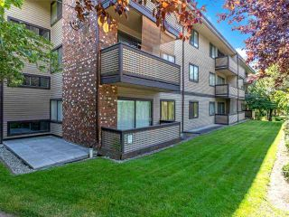 """Photo 1: 104 535 BLUE MOUNTAIN Street in Coquitlam: Central Coquitlam Condo for sale in """"Regal Court"""" : MLS®# R2561452"""