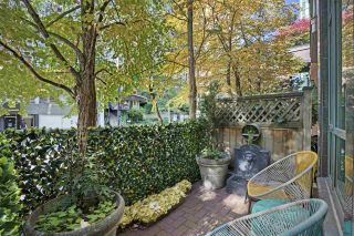 """Photo 15: 102 896 HAMILTON Street in Vancouver: Downtown VW Townhouse for sale in """"Rosedale Gardens"""" (Vancouver West)  : MLS®# R2604168"""