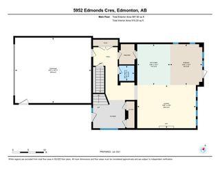 Photo 40: 5952 Edmonds Crescent SW in Edmonton: Zone 57 House for sale : MLS®# E4226762