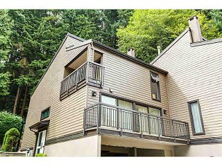 "Photo 1: 967 HERITAGE Boulevard in North Vancouver: Seymour NV Townhouse for sale in ""HERITAGE IN THE WOODS"" : MLS®# V1095018"