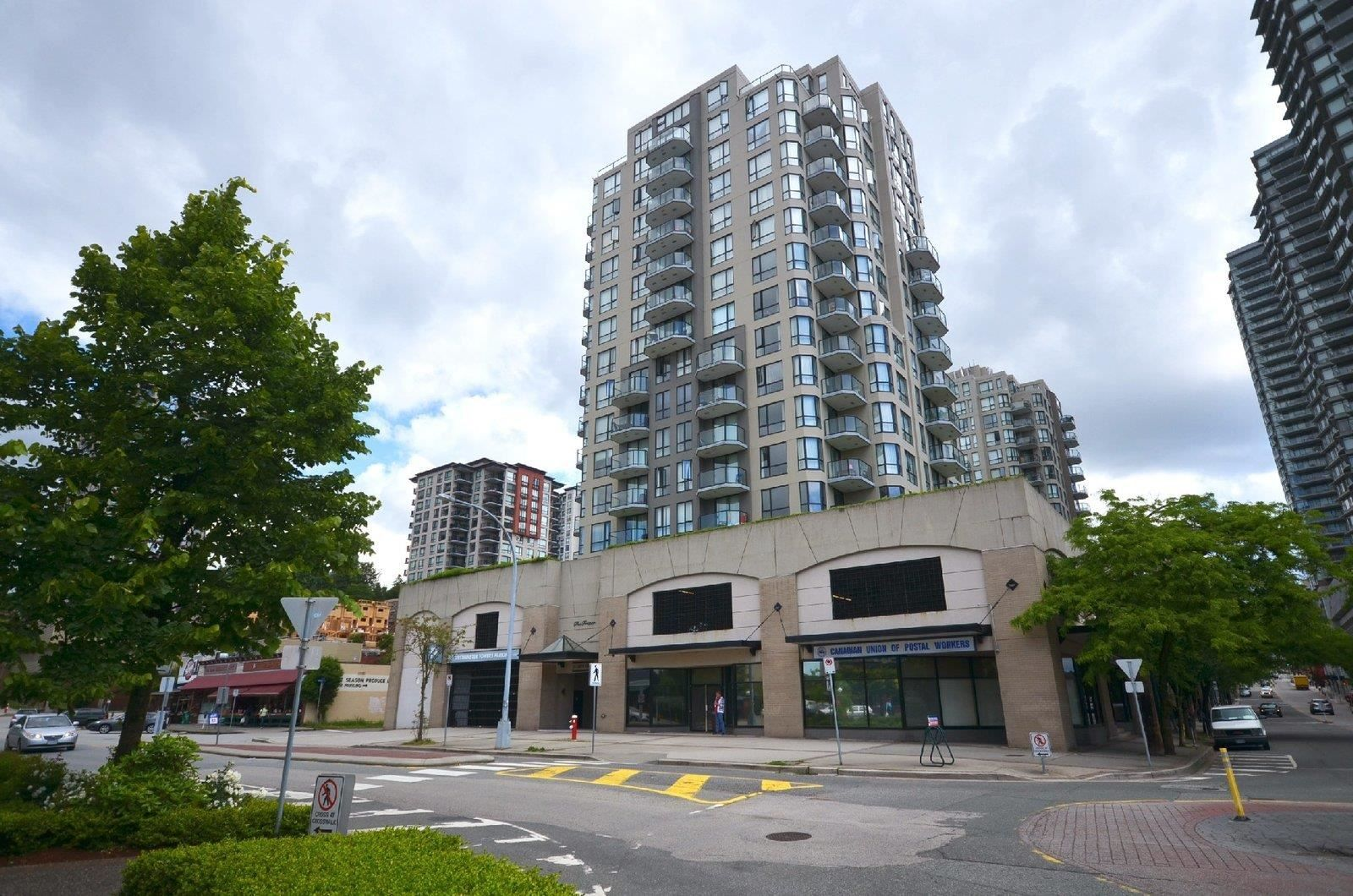 """Main Photo: 804 55 TENTH Street in New Westminster: Downtown NW Condo for sale in """"WESTMINSTER TOWERS"""" : MLS®# R2607709"""