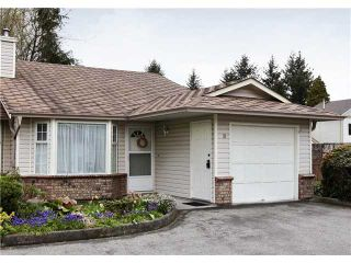 "Photo 1: 10 12049 217TH Street in Maple Ridge: West Central Townhouse for sale in ""THE BOARDWALK"" : MLS®# V819767"