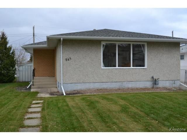 Main Photo: 863 Autumnwood Drive in WINNIPEG: Windsor Park / Southdale / Island Lakes Residential for sale (South East Winnipeg)  : MLS®# 1427106