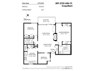 """Photo 20: 309 2733 ATLIN Place in Coquitlam: Coquitlam East Condo for sale in """"Atlin Court"""" : MLS®# R2355096"""