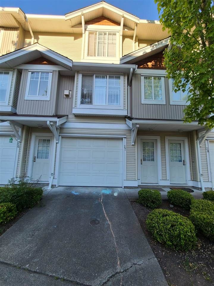 Main Photo: 27 12110 75A Avenue in Surrey: West Newton Townhouse for sale : MLS®# R2587920