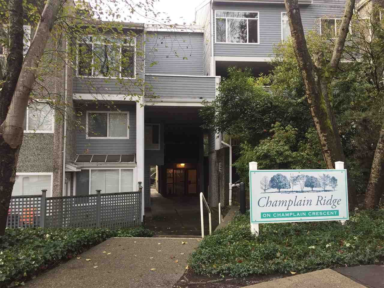 Main Photo: 8011 CHAMPLAIN CRESCENT in Vancouver: Champlain Heights Townhouse for sale (Vancouver East)  : MLS®# R2325085