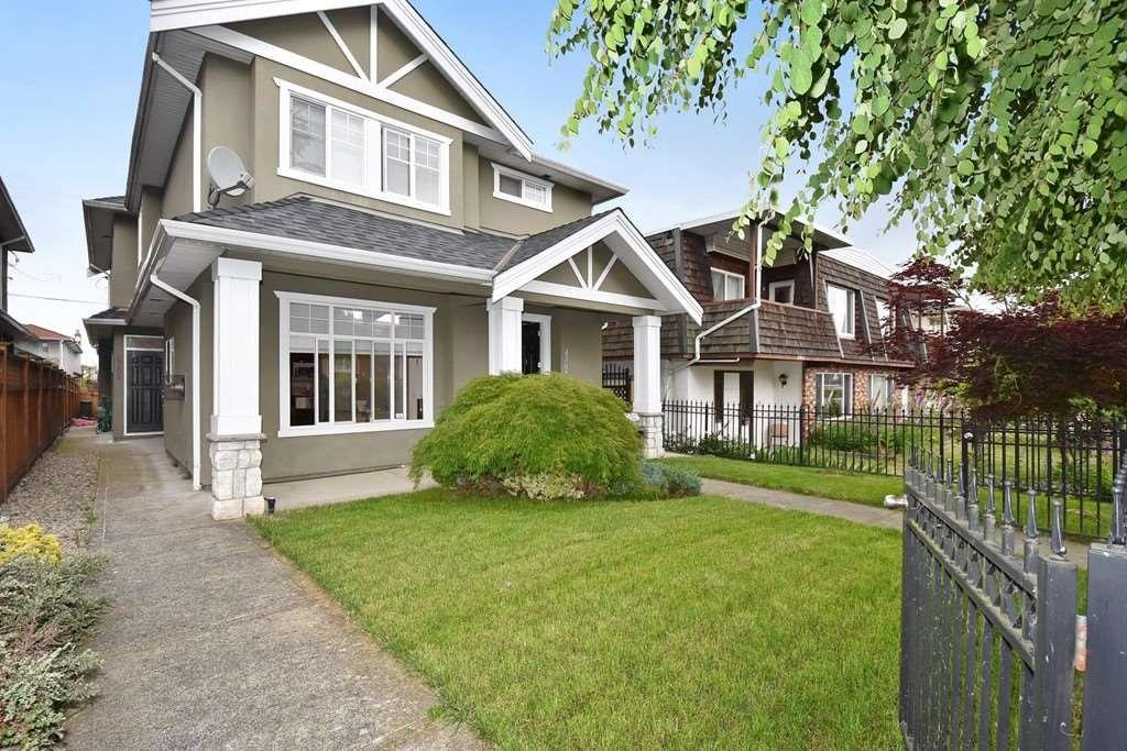 Main Photo: 4309 ALBERT STREET in : Vancouver Heights 1/2 Duplex for sale : MLS®# R2177099