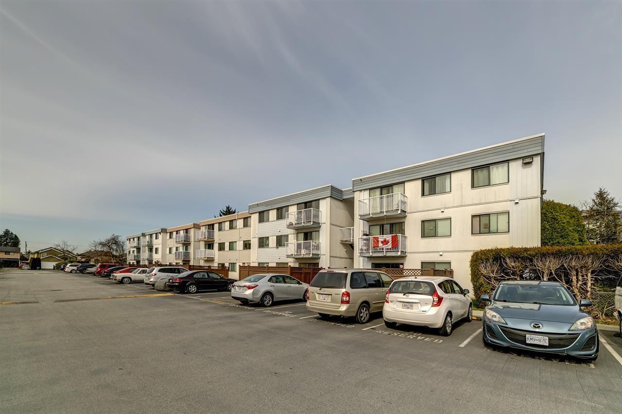 "Main Photo: 110 7180 LINDSAY Road in Richmond: Granville Condo for sale in ""Sussex Square"" : MLS®# R2552435"