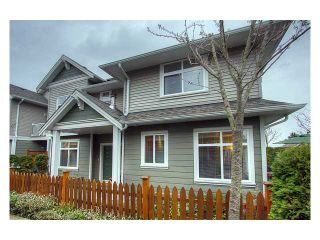 "Photo 1: 20 6300 LONDON Road in Richmond: Steveston South Townhouse for sale in ""MCKINNEY CROSSING"" : MLS®# V882826"