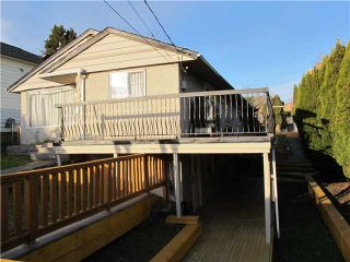 Photo 1: 311 SIMPSON Street in New Westminster: Sapperton House for sale : MLS®# V1038448