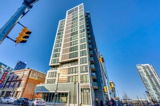 Photo 1: 303 450 8 Avenue SE in Calgary: Downtown East Village Apartment for sale : MLS®# A1076928