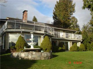 """Photo 3: 1402 CAMELOT Road in West Vancouver: Chartwell House for sale in """"Chartwell"""" : MLS®# V875570"""