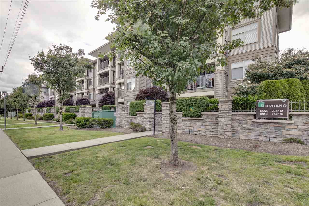 "Main Photo: 307 12238 224 Street in Maple Ridge: East Central Condo for sale in ""URBANO"" : MLS®# R2378332"