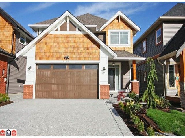 Main Photo: 21151 77a Avenue in Langley: Willoughby Heights House for sale : MLS®# F1200675