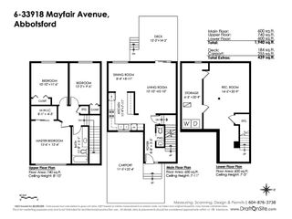 "Photo 20: 6 33918 MAYFAIR Avenue in Abbotsford: Central Abbotsford Townhouse for sale in ""Clover Place"" : MLS®# R2385034"