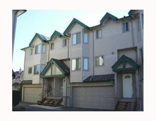 """Photo 1: 18 2420 PITT RIVER Road in Port_Coquitlam: Mary Hill Townhouse for sale in """"PARKSIDE ESTATES"""" (Port Coquitlam)  : MLS®# V690550"""