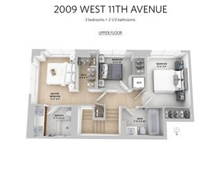 Photo 19: 2009 W 11TH AVENUE in Vancouver: Kitsilano Townhouse for sale (Vancouver West)  : MLS®# R2419955