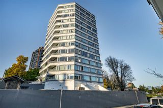 "Photo 1: 501 31 ELLIOT Street in New Westminster: Downtown NW Condo for sale in ""ROYAL ALBERT TOWERS"" : MLS®# R2517434"