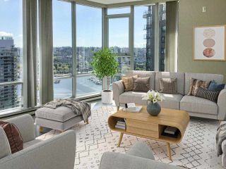 """Main Photo: 2701 550 PACIFIC Street in Vancouver: Yaletown Condo for sale in """"AQUA AT THE PARK"""" (Vancouver West)  : MLS®# R2576640"""