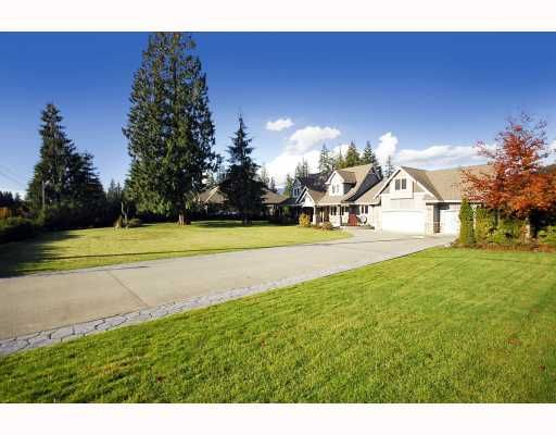 Main Photo: 95 STRONG Road: Anmore House for sale (Port Moody)  : MLS®# V797108