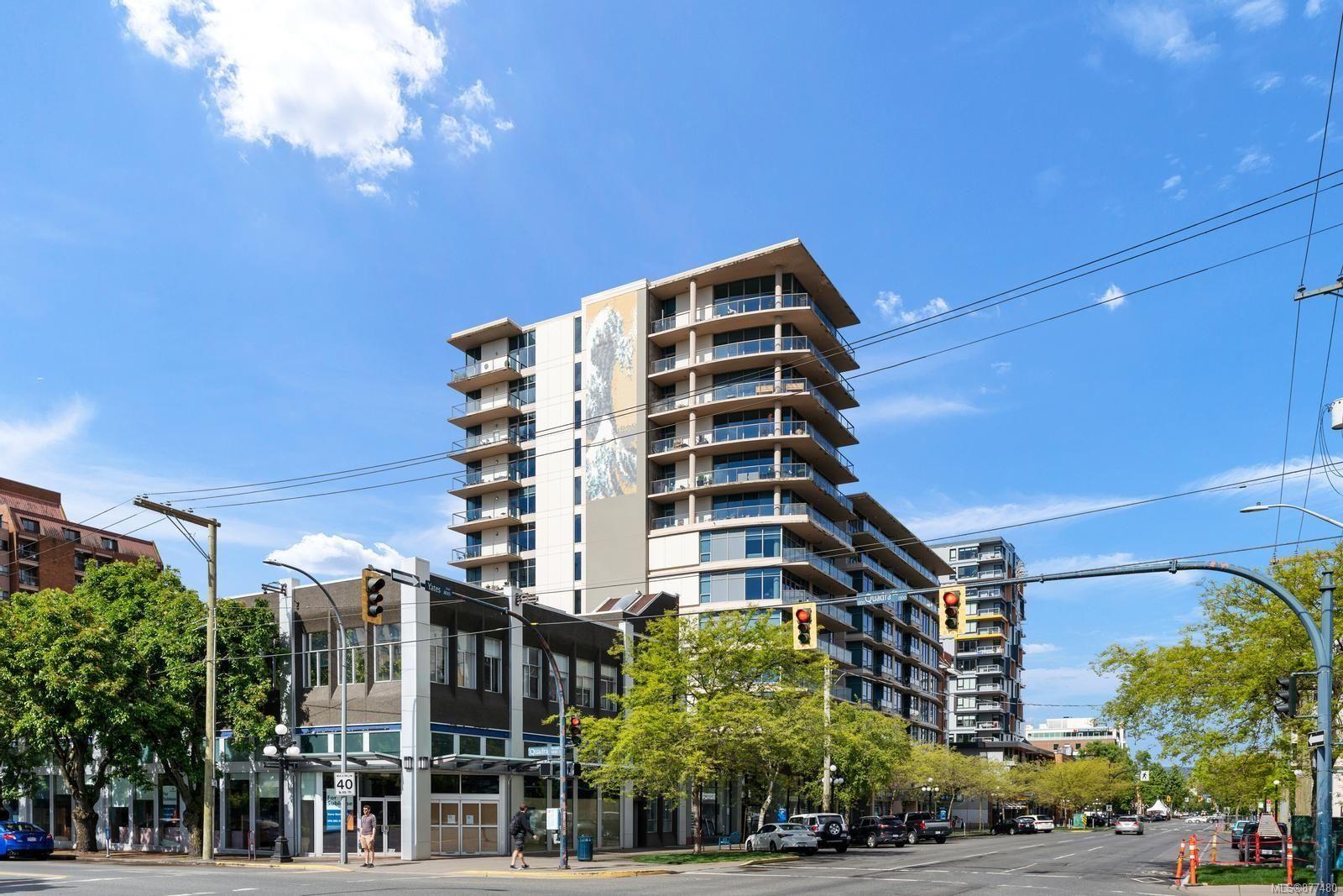Main Photo: 906 845 Yates St in : Vi Downtown Condo for sale (Victoria)  : MLS®# 877480