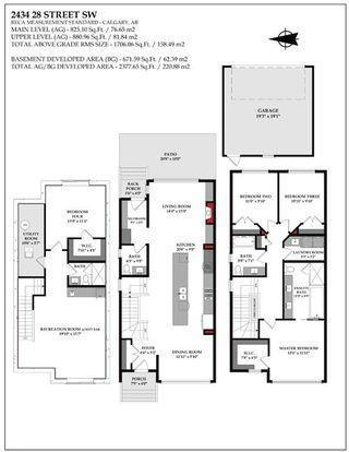 Photo 2: 2434 28 Street SW in Calgary: Killarney/Glengarry Semi Detached for sale : MLS®# A1118998
