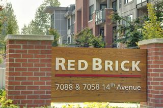 """Photo 1: 416 7058 14TH Avenue in Burnaby: Edmonds BE Condo for sale in """"REDBRICK B"""" (Burnaby East)  : MLS®# R2194627"""