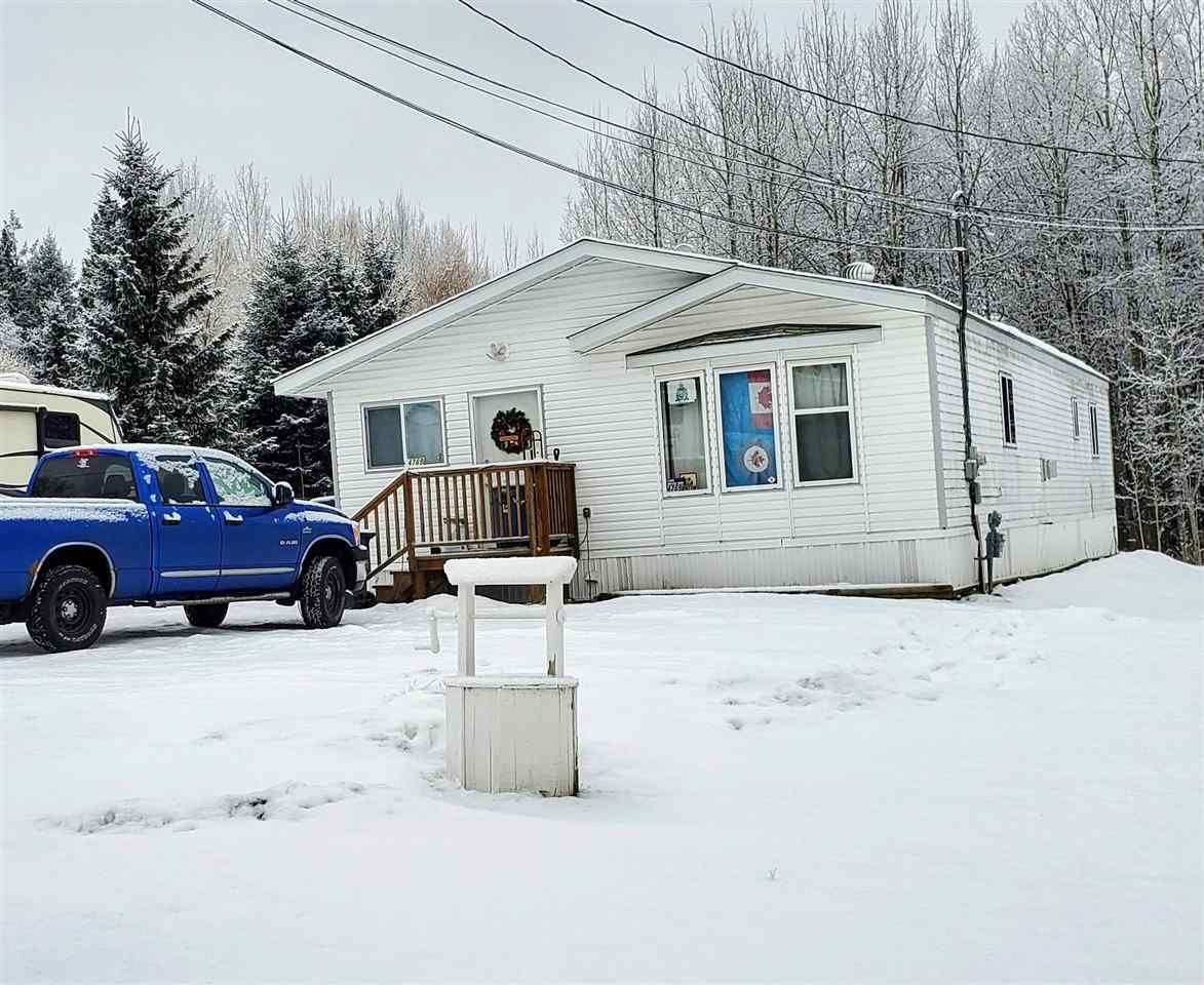 """Main Photo: 4769 POTY Road in Prince George: North Blackburn Manufactured Home for sale in """"NORTH BLACKBURN"""" (PG City South East (Zone 75))  : MLS®# R2532058"""
