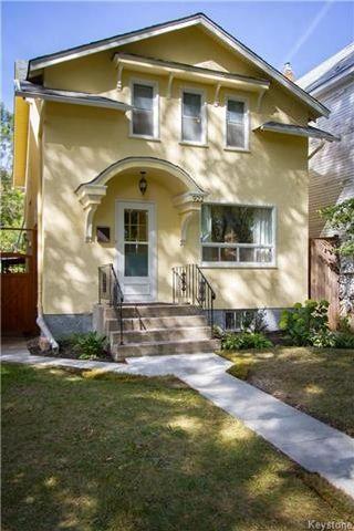 Photo 1: 922 Sherburn Street in Winnipeg: West End Residential for sale (5C)  : MLS®# 1724078