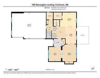 Photo 36: 106 Gleneagles Landing: Cochrane Detached for sale : MLS®# A1130993