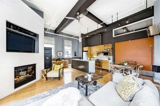"""Photo 6: 301 549 COLUMBIA Street in New Westminster: Downtown NW Condo for sale in """"C2C Lofts"""" : MLS®# R2590758"""