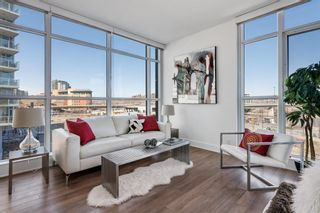 Photo 4: 412 619 Confluence Way SE in Calgary: Downtown East Village Apartment for sale : MLS®# A1118938