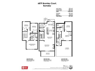 Photo 40: 6879 BROMLEY Court in Burnaby: Montecito Townhouse for sale (Burnaby North)  : MLS®# R2463043