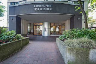 Photo 4: 804 1838 NELSON STREET in Vancouver: West End VW Condo for sale (Vancouver West)  : MLS®# R2473564